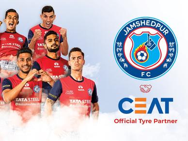 CEAT will be the Official Tyre Partner for Jamshedpur FC