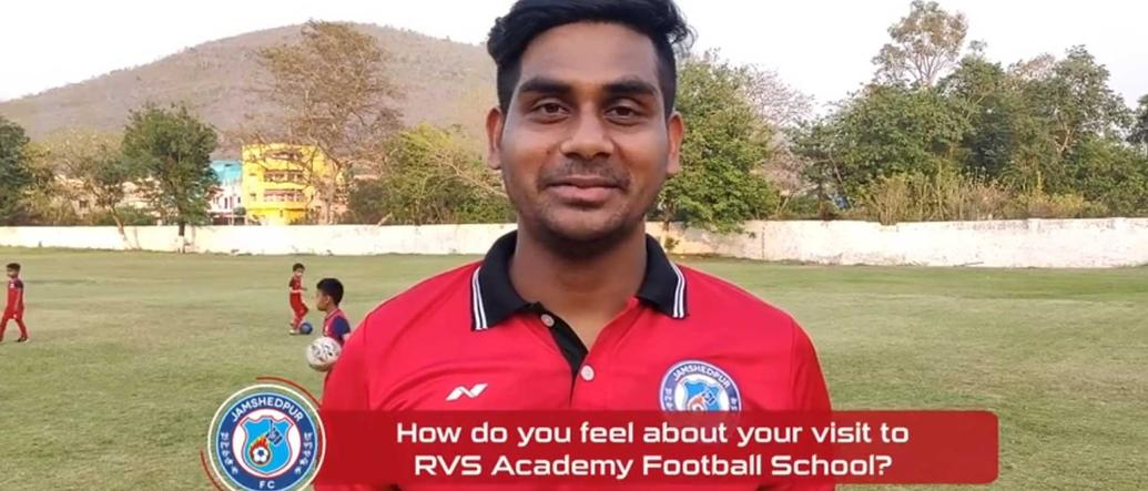 Our defender, Augustin Fernandes, gives us his view on his visit to RVS Academy Football School