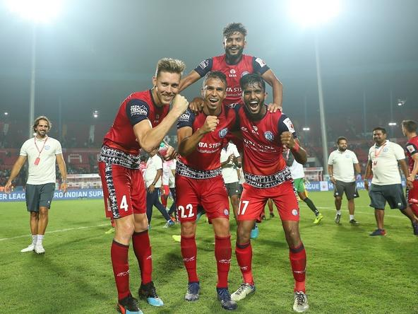 Jamshedpur FC ran riot against Hyderabad FC at the Furnace