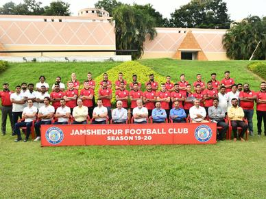 Jamshedpur FC introduces squad for 2019-20 season as new season begins on 22nd October