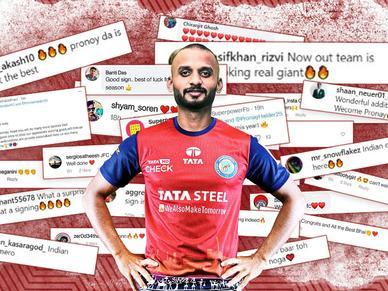 Jamshedpur FC says Johar to Indian National, Pronay Halder