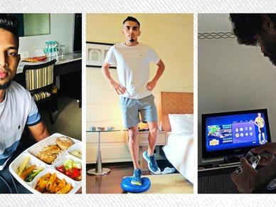 Get to know Jamshedpur FC's quarantine routine