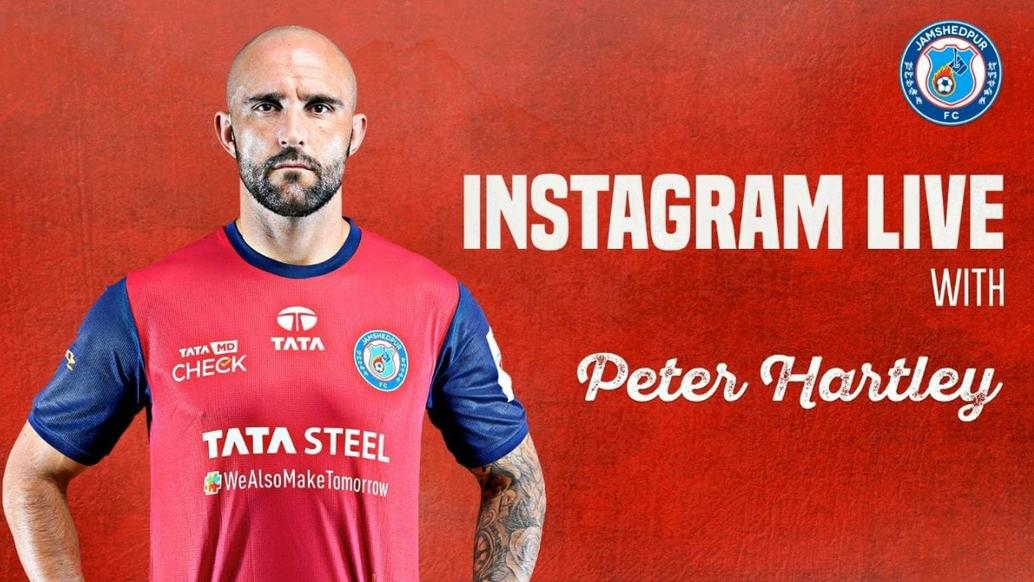 Instagram Live Session with Peter Hartley and fans