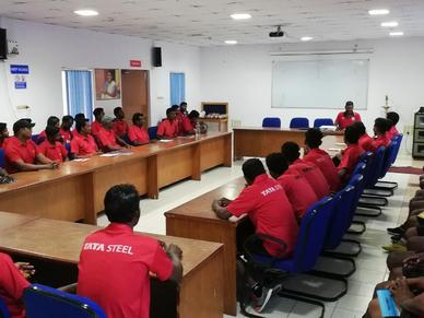 Jamshedpur FC Grassroots refresher workshop with TSRDS - May 2019