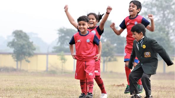 Jamshedpur FC kick-start their 9th Football School with Delhi World Public School, Dimna