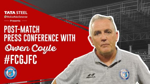 Post-match press conference with Owen Coyle - #FCGJFC