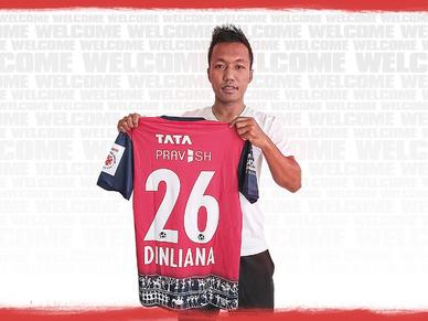 Dinliana signs for Jamshedpur on a 3-year deal