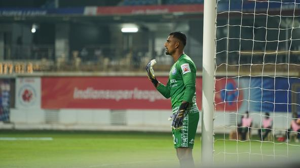 """We will try and play our best against NorthEast United,"" says Rehenesh ahead of #JFCNEU"