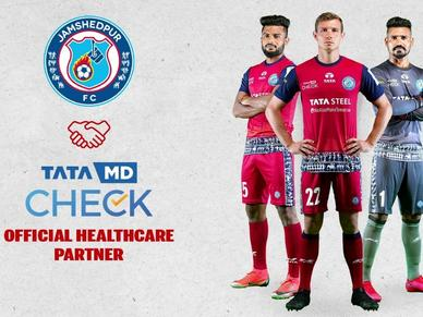 TataMD CHECK to be Jamshedpur FC's Official Healthcare Partner