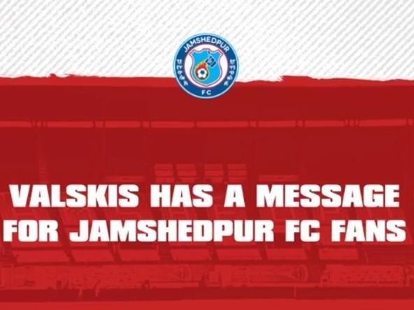 Nerijus Valskis has a message for Jamshedpur FC fans