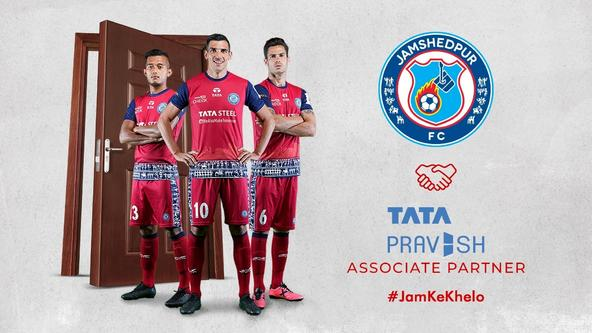 Tata Pravesh renews association with Jamshedpur FC as Associate Partner