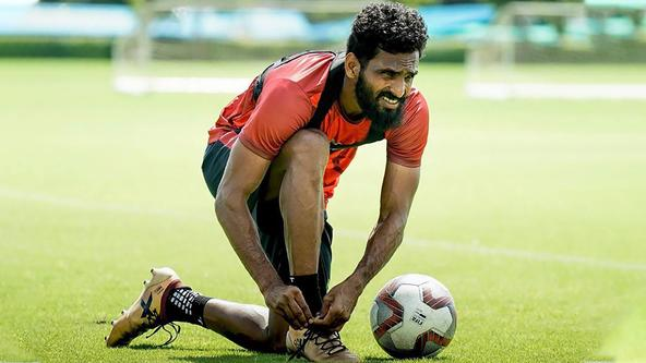 """""""I believe we can fight for a place in the play-offs"""" – CK Vineeth"""