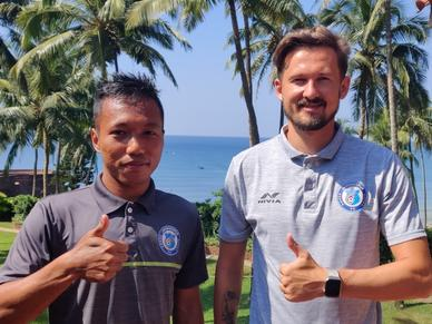 Valskis and Dinliana on ISL under new normal, first game against Chennai and more