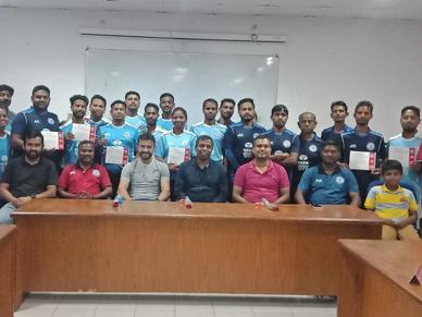 Youth Leaders Workshop for Jamshedpur FC's football school coaches