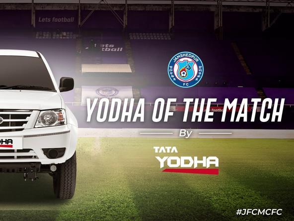 #JFCMCFC Yodha of the match - Farukh Choudhary