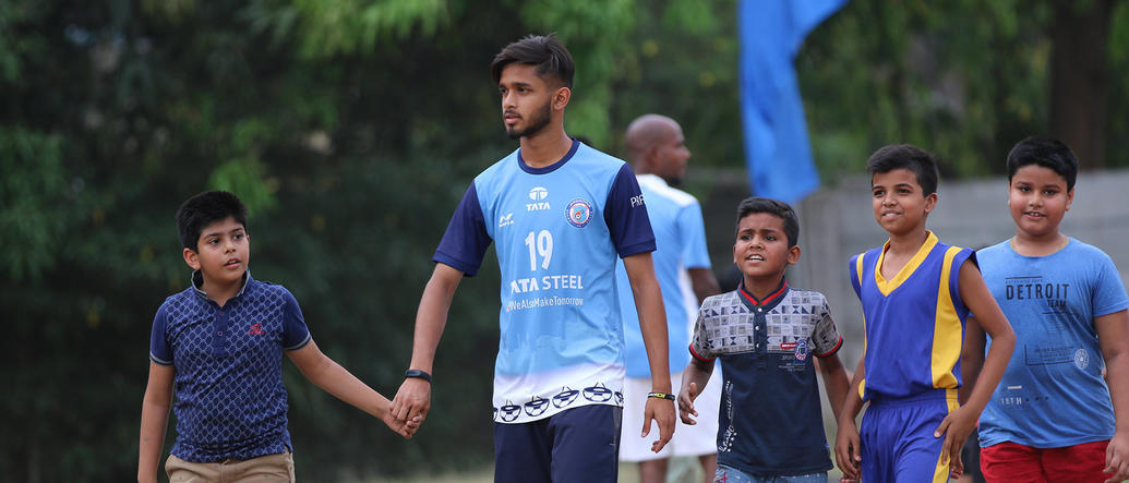 Gallery: Jamshedpur FC Kick-start its sixth Football School in Carmel Junior College