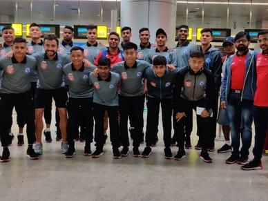 Jamshedpur FC U18 (TFA) take-off to Spain for an 'Exposure Tour' with Atletico de Madrid