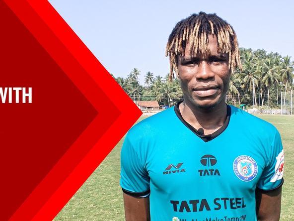 Pre-match interview with Stephen Eze - #JFCBFC