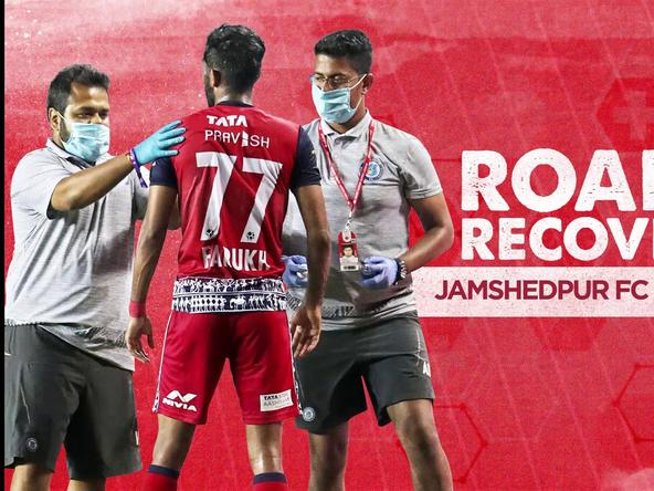 Road to Recovery ft. Jamshedpur FC Medical Team