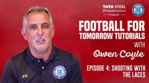 #FootballforTomorrow Tutorials with Owen Coyle - Episode 4