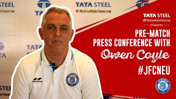 Pre-match press conference with Owen Coyle - #JFCNEU