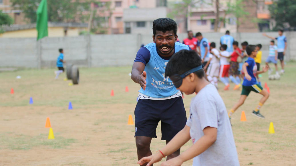 Gallery: Jamshedpur FC Kick-start its sixth Football School in Carmel Junior College