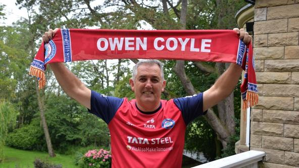 Jamshedpur FC appoints Owen Coyle as Head Coach