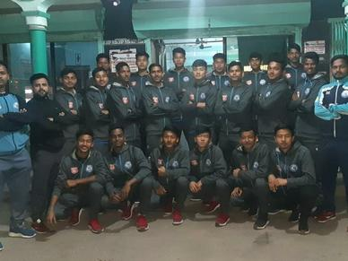 U18 Team ready for the 15th All India D.S.Cup Football Tournament 2020