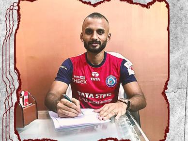 Jamshedpur sign Indian International midfielder Pronay Halder on loan