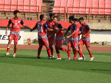 An emphatic win for the U18 team on Day 1 of the India Youth League Elite