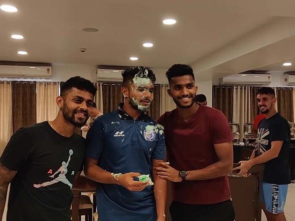 Mobashir Rahman's birthday celebration at the Flatlet's!