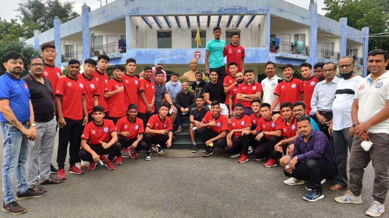 Ex Tata Football Academy cadets return to their roots