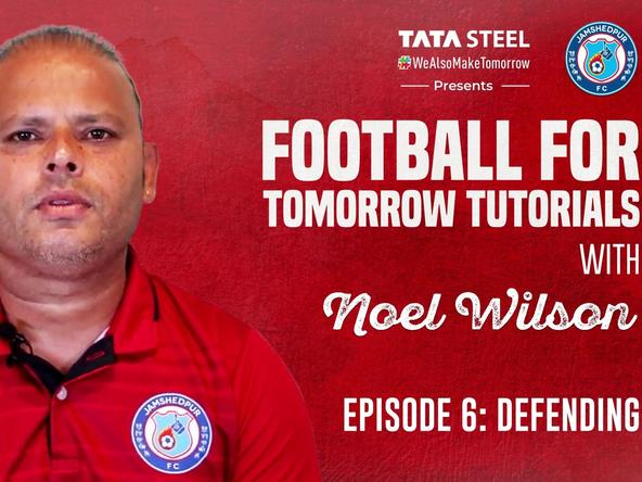 #FootballForTomorrow Tutorials with Noel Wilson - Episode 6
