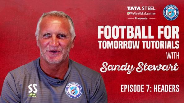 #FootballForTomorrow Tutorials with Sandy Stewart- Episode 7