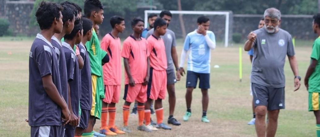 TSRDS-Jamshedpur FC Training Camp