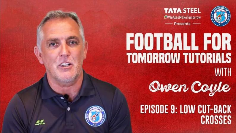 #FootballForTomorrow Tutorials with Owen Coyle - Episode 9