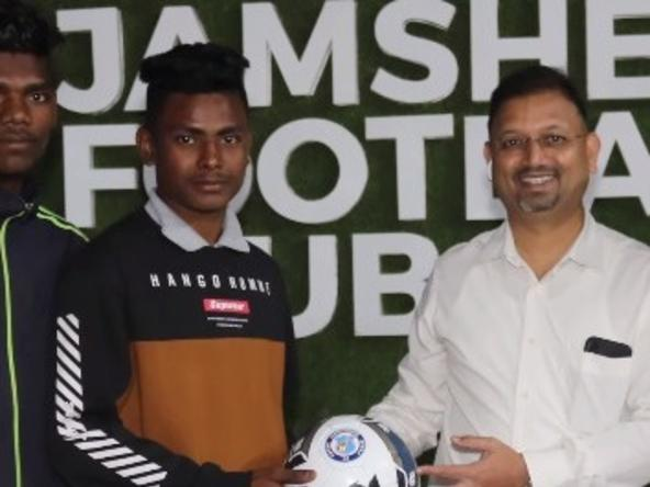 Jamshedpur FC CEO extends his wishes to SPI College