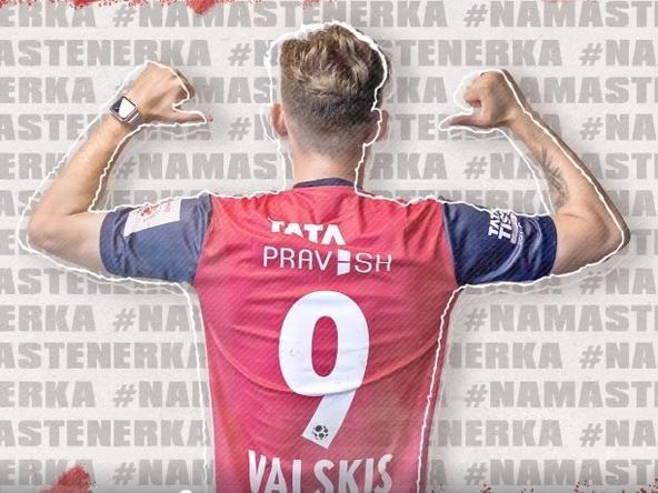 Nerijus Valskis is here