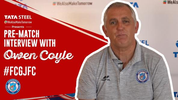 Pre-match interview with Owen Coyle - #FCGJFC