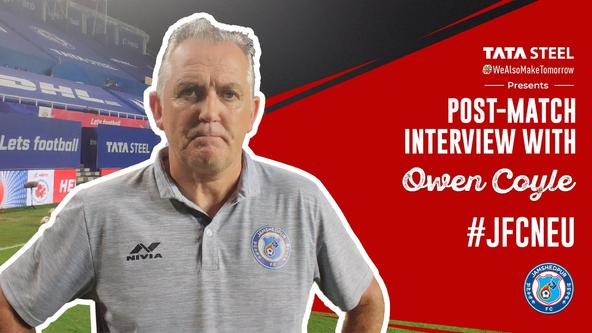 Post-match interview with Owen Coyle - #JFCNEU
