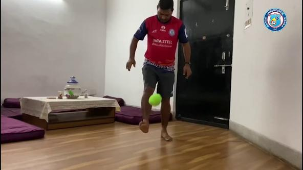 Stay fit, stay in shape at home ft. Kundan Chandra