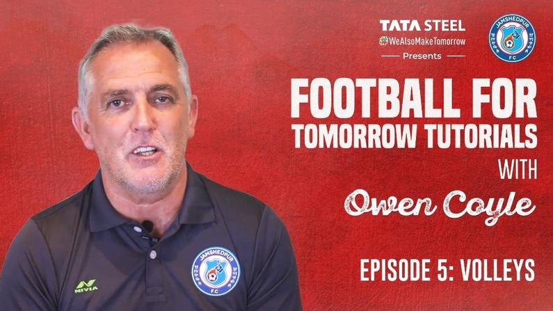 #FootballForTomorrow Tutorials with Owen Coyle - Episode 5