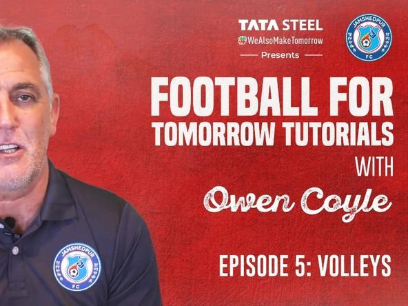#FootballForTomorrow Tutorials with Owen Coyle - Episode 5