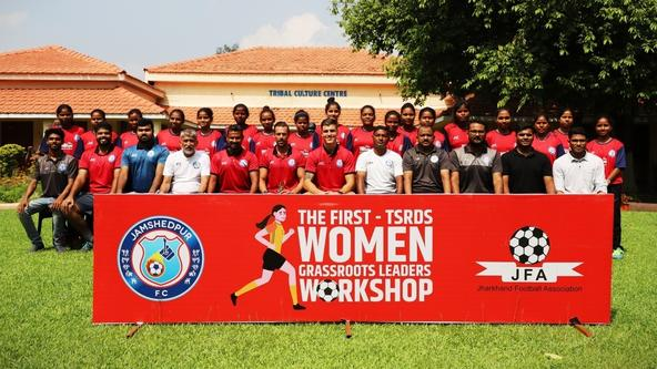Jamshedpur FC and TSRDS conduct first ever Grassroots Workshop exclusively for women