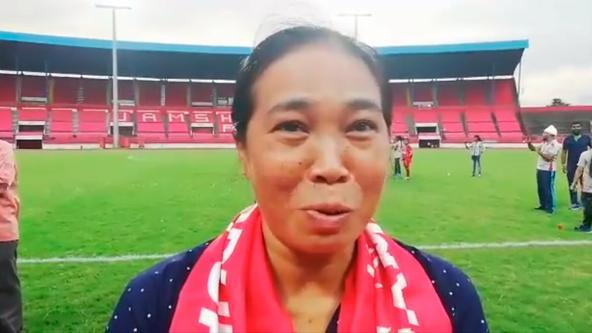 Arjuna Awardee Oinam Bembem Devi talks about our training facilities