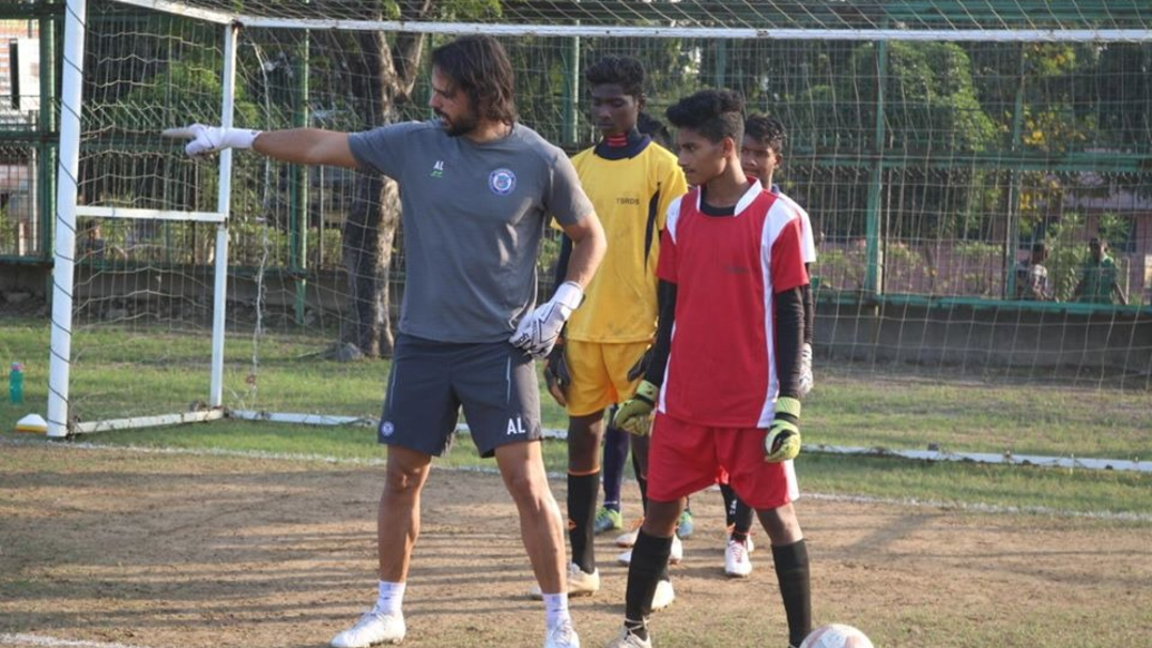 50 young football stars train under the guidance of Jamshedpur FC First Team