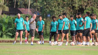 Pre-season training sessions