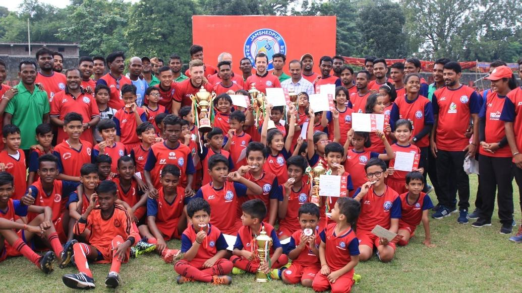 Goals & celebrations galore in Jamshedpur FC Junior Champs knockout phase