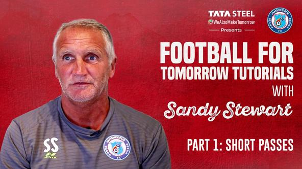 #FootballForTomorrow​ Tutorials with Sandy Stewart - Episode 2