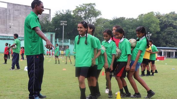 Jamshedpur FC conduct an all-girls Grassroots Festival to celebrate JRD Tata's birth anniversary